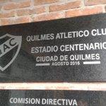 """Ahora si Estadio Centenario """" Ciudad de Quilmes """"... https://t.co/ML0zlqvAEV"""