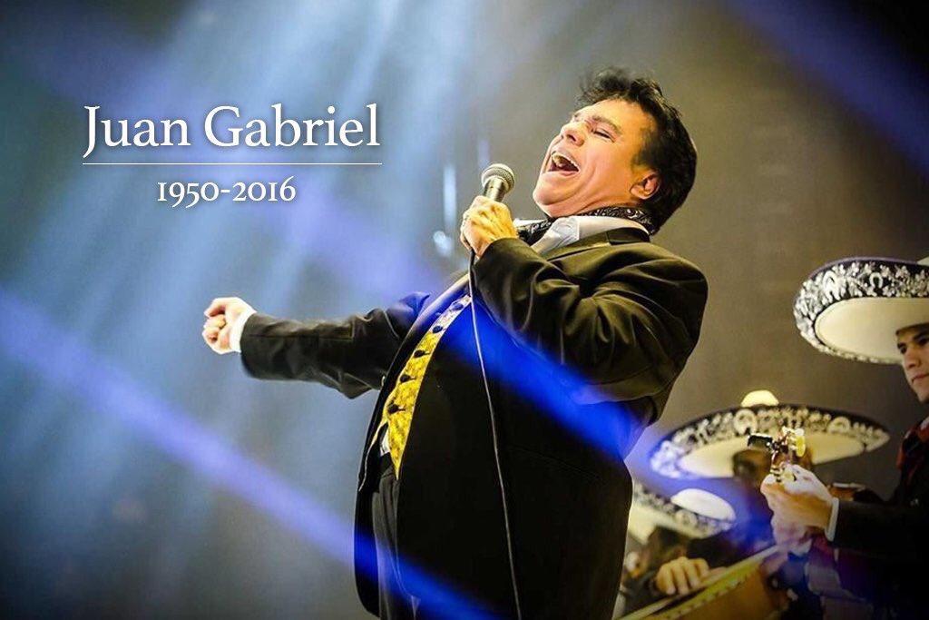 #JuanGabriel siempre fuiste y serás parte de nuestra vida en cualquier fiesta o reunión, gracias por tanta música. https://t.co/YaH4kNioyg