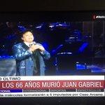 Bien @CNNChile ! Único canal dando cobertura a la muerte de #JuanGabriel No todos los días muere icono de la música https://t.co/AqODoDiwTI