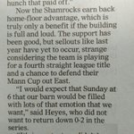 Snipit from todays @timescolonist , Come out & show your Shamrocks green for our guys..🍀 https://t.co/hbISfkL24L https://t.co/uGEMAbAbSK