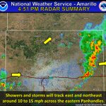 Storms will move east and northeast across the eastern Panhandles. Rainfall of 2 to 4 inches possible. #phwx https://t.co/bkUdPb8gIK