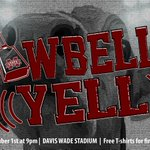 Cowbell Yell is Thursday at 9pm in Davis Wade Stadium! Bring your cowbell and be prepared to yell!! #HailState https://t.co/8RNbQoVIvm