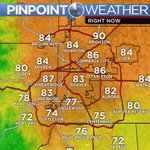 Outflow from scattered storms has cooled off the southern Metro Area a bit #KDVR #KWGN #cowx https://t.co/9pbyKVP0ve