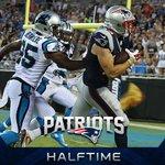 #Patriots lead 9-0 at halftime. #NEvsCAR https://t.co/CeanrKezRl