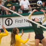 Dominant second set for @CSUvolleyball. Rams win 25-13 to take 2-0 lead on NDSU into intermission #CSURams https://t.co/9f1y2znXYh