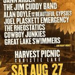 Whos going to the @HarvestPicnicCA this weekend? - @thewalkingnick https://t.co/LRbNLl2aza