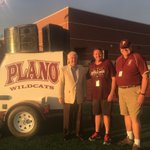 Thank you to Plano City Councilman Tom Harrison for the coin toss tonight. https://t.co/WcCw0XTgNN