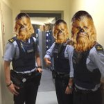 Wookies of Pearse Street going out on patrol. May the force be with them. https://t.co/QP0uO84DdQ