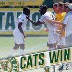 CATS WIN! Brian Wright (OT winner) and Bernard Yeboah (2 goals) lift #VCats over Cal State Fullerton 3-2 at Virtue https://t.co/Yz9h1No5Cq