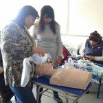 #Samu #Regional #Calama en talleres prácticos con funcionarios Hospital Carlos Cisternas. https://t.co/eO0f5T7V2M