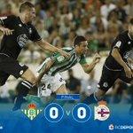 Final do #RealBetisDépor no Benito Villamarín cun empate a ceros #DaleDÉ! https://t.co/c0qHZLftvn