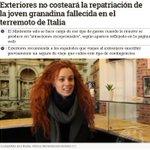 Mientras el PP se gasta 750.000 € en la casa de Wert no hay para repatriar a una española del terremoto de Italia https://t.co/1O1FUqtFFD