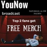 GUYS Im broadcasting tomorrow at 10 AM Pacific time and the top two fans get a FREE merch shirt.  RT this for a DM😝 https://t.co/nsVtlrzdhs