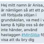 Hjälp till, hörrni. Detta är viktigt. RT #MinSlöja https://t.co/nYRnsTLaLA