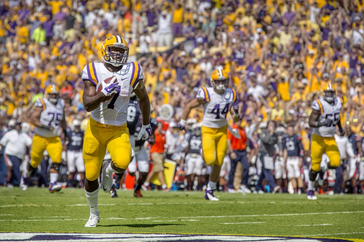 Exactly one week until kickoff for @LSUfootball! #AllForLSU https://t.co/sgueyxKfhV