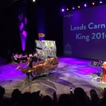 The @CarnivalLeeds King is a pirate with his own boat. An actual boat. Fantastic #carnivalhappy https://t.co/jJHJ1Qqtv1