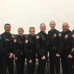 #PPD finest with the two newest Pasadena Police officers (middle). OCSA Class 221 graduation https://t.co/vPvsMkktQp