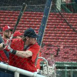 Always the first round during #SoxBP: The catchers https://t.co/nd9M3T1Oke