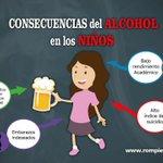 Conoce y comparte las consecuencias del Alcohol en los niños... Participa de la campaña #RompiendoElSilencio #MiCOP https://t.co/1E7oczgWFm