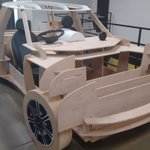 Things you run into @ArtCenterEdu: Full-scale automotive plywood models. Now wheres the soapbox derby racetrack? https://t.co/PxL9PPutTf
