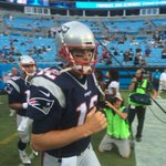 Tom Brady close up taking the field in Carolina. #WBZ https://t.co/Sc8ECmQgHZ