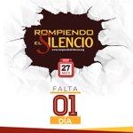 Mañana es el día de #RompiendoElSilencio. No más violencia!!!! Participa con tu iglesia. https://t.co/UvDJm6MnMq
