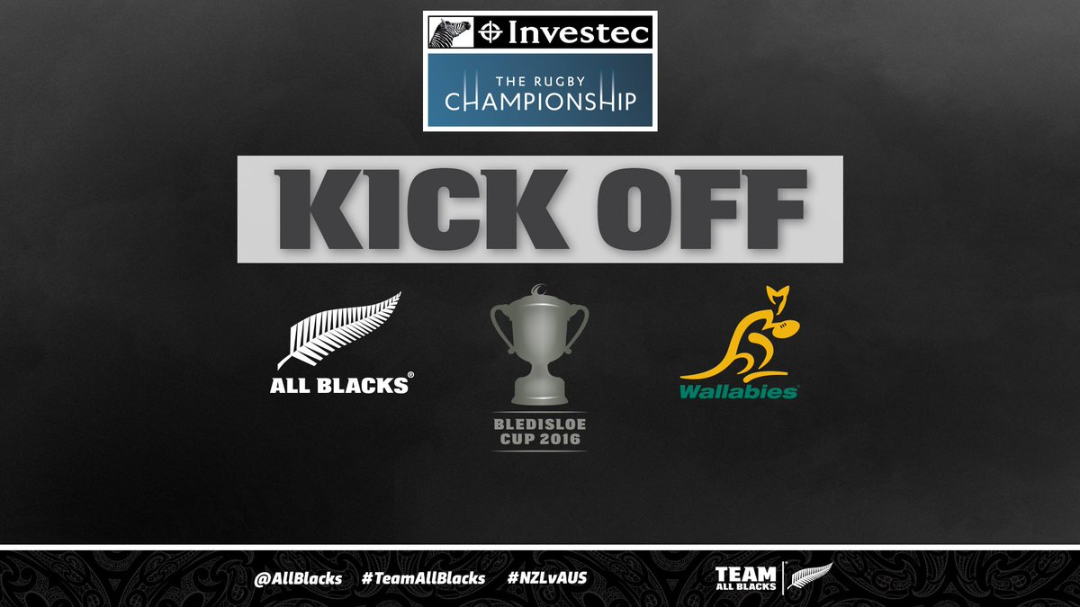 GAME ON!RT if YOU are backing the #AllBlacks v Australia tonight!#NZLvAUS #BledisloeCup