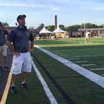 Ken Winters set for his first game as head coach at Whitmer. https://t.co/DMCkvzR3LZ