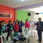 Psicólogo del Colegio Adventista #JSMTrujillo en conferencia acerca de #RompiendoElSilencio en El Porvenir-Trujillo https://t.co/ws9SI1VFZs