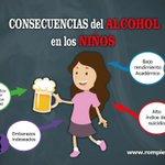 Comparte las consecuencias del Alcohol en los niños... Participa de la campaña #RompiendoElSilencio https://t.co/spyN15xQuy