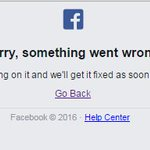 RT if you are seeing this when trying to access #Facebook #facebookdown https://t.co/io7McnF8xI