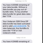 @Vodacom theres no way I could have finished 3GB in 9hours when Ive only been on whatsapp and Twitter....ayikhona https://t.co/OQOQVmjQrU