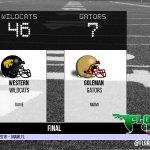 WEEK 1 Western Wildcats 46 Goleman Gators 7 FINAL https://t.co/dnaYg1LTvX #FLgridiron https://t.co/EqSsJ1nSk6
