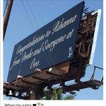 .@Drake congratulates @rihanna on her Video Vanguard Award with a billboard: https://t.co/aL7MzEJOmm https://t.co/KfzqSBTi19