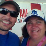 Great afternoon at the #BCanNats with @SheriShannon. Go @FredRoyals https://t.co/xa1jD5GcwS