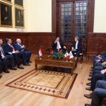 La #CDMX recibe con gusto al Presidente de Paraguay @Horacio_Cartes a quien nombré Huésped Distinguido #mm https://t.co/s7dzlubwpi