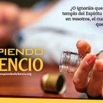 #RompiendoElSilencio Ama tu vida y no la destruyas con el alcohol https://t.co/O8SvESY9Pw