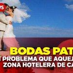 Bodas patito un problema que aqueja a la #ZonaHotelera de #Cancún https://t.co/FswqXoJmzu https://t.co/6EAdKsuLDi