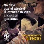No deje que el alcohol le arruine la vida a alguien que ama. #RompiendoElSilencio #ADRA https://t.co/n5XzJhx8gQ