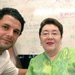 Con la hermana Ana agradeciendo las bendiciones! #Cancún #CR https://t.co/gAsJWBos1y