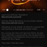 Watch the OFFICIAL TRAILER of #BarcelonaALoveUntold here: https://t.co/0ZFQKgHvxR! ❤️ #PushAwardsKathNiels https://t.co/SkH28k9wS4