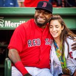 Just a couple of champs hanging out. #redsox #bigpapi #alyraisman https://t.co/YSw4q7ZCGD