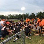 One of the best aspects of Friday nights. Dads Pregame prayer with their sons. Awesome place to be! https://t.co/QTCxGHG1m9
