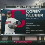 .@Indians look to even this series up vs. @Rangers with @CKluber on the bump! STREAM: https://t.co/wmkVJe8nxF https://t.co/hPSi1MJrWu