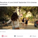 Happy 1M views on FB! 😍 Keep on watching, loves. https://t.co/0ZFQKgHvxR #PushAwardsKathNiels #BarcelonaALoveUntold https://t.co/mE6zk71yyp