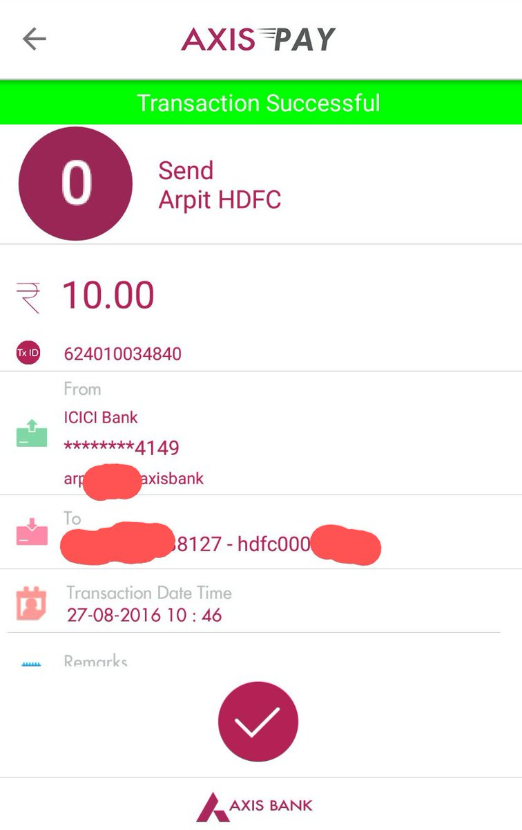 Strange things are possible with UPI - Just done sending money from @ICICIBank a/c to @HDFC_Bank on an @AxisBank app https://t.co/tuc8TwCXYl