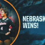 Champs being champs.   No. 1 @Huskervball opens season with 3-1 win over No. 10 Florida. #NCAAVB 🏐 https://t.co/bYcZX8BLnD