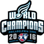 The Philadelphia Soul are the 2016 Arena Football League WORLD CHAMPIONS!! https://t.co/BxHBdxw8TZ