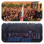 #Adamsarmy shows up! First home game of the year. #gopats https://t.co/v3Gl8CYAah