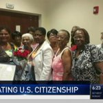 104-Year-Old Woman Becomes U.S. Citizen After Two Decades https://t.co/2h59TMrkvu #miami https://t.co/f9Siw9RfBB